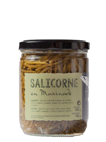 Marinated Samphire in Organic Vinegar – 425g Jar