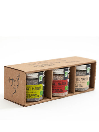 Guerande Sea Salt Trio for Meat and poultry – Certified Organic