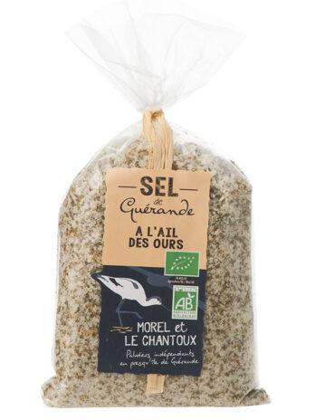 Sel de Guérande IGP à l'ail des ours – 250g – Sachet