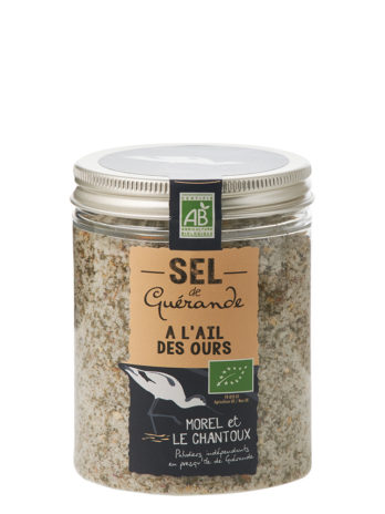Guerande Sea Salt with Bear Garlic – 250g Jar