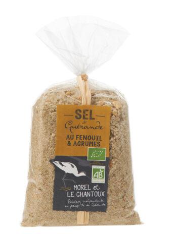 Sel de Guérande IGP au fenouil et agrumes– 250g – Sachet