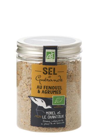 Sel de Guérande IGP au fenouil et agrumes – 250g – Boite