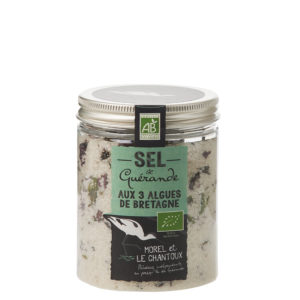 Guerande Sea Salt with Brittany Seaweed – 250g Jar