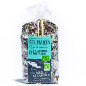 Guerande Sea Salt with Brittany Seaweed – 250g Bag