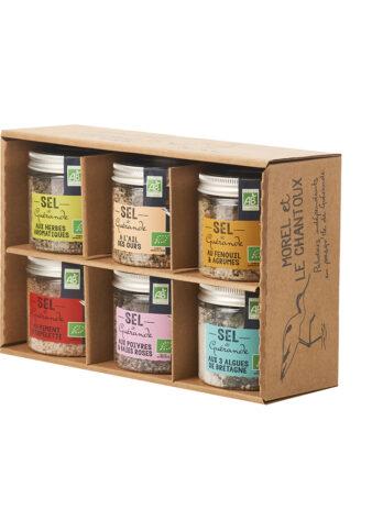 Guerande Sea Salt DISCOVERY Gift Box (Organic Sea salts)